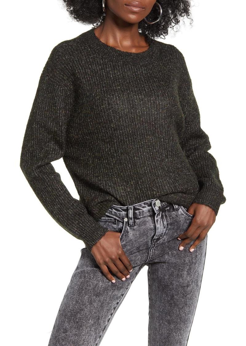Brass Plum Marl Pullover Sweater