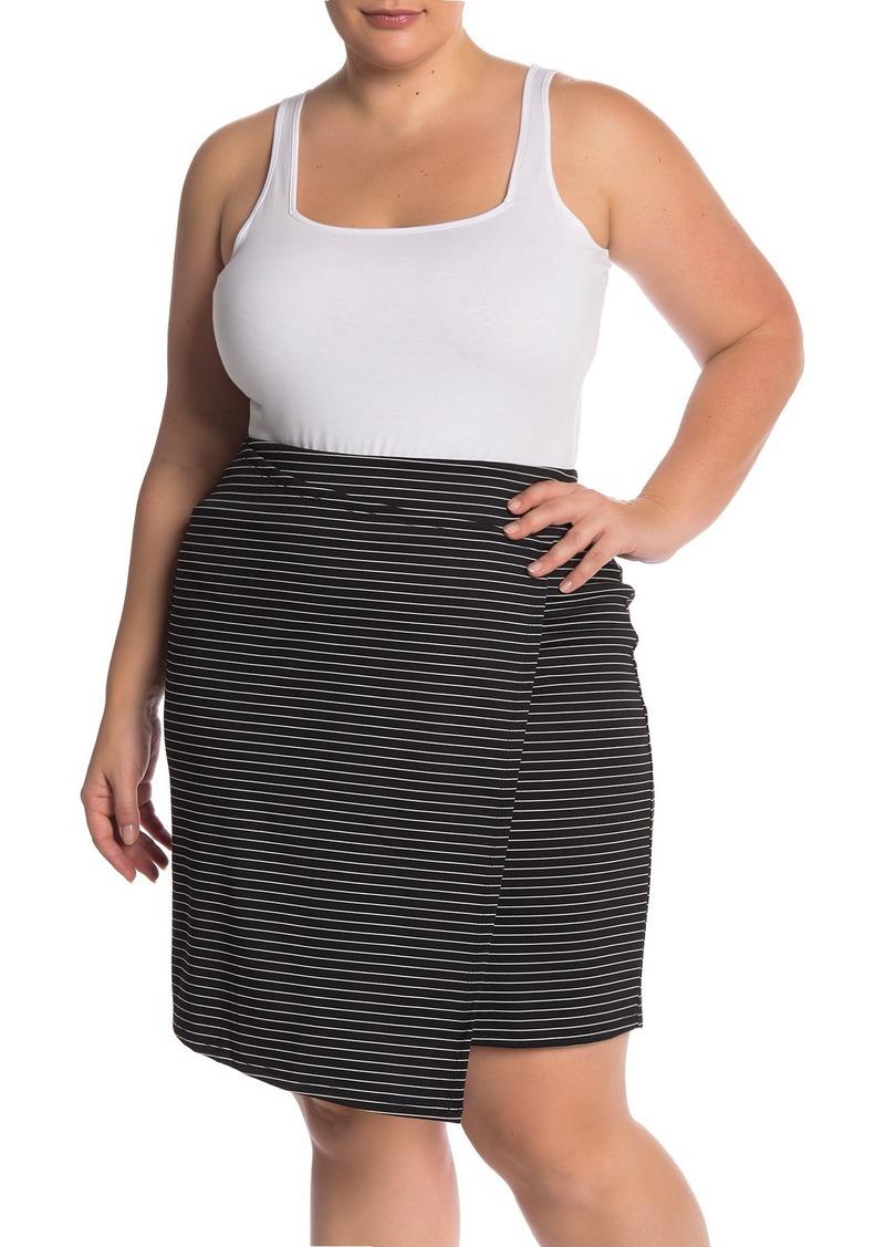 Square Neck Bodysuit (Plus Size)