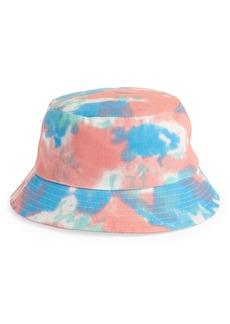 Brass Plum Tie Dye Bucket Hat