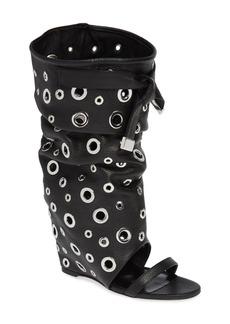Brian Atwood Brigitte Too Wedge Boot (Women) (Wide Calf)
