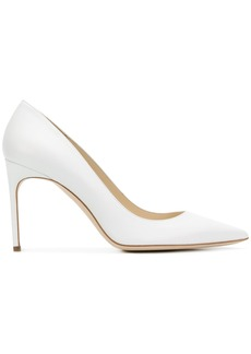 Brian Atwood pointed toe pumps - White