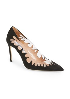Brian Atwood Victory Cutout Pointy Toe Pump (Women)