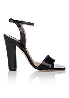 Brian Atwood Women's Crawford Patent Leather Ankle-Strap Sandals