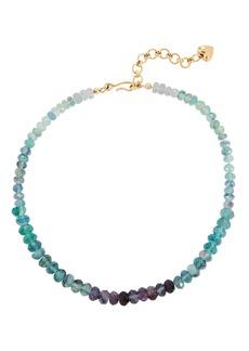 Brinker & Eliza Blue Crush Beaded Necklace