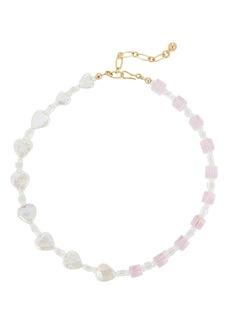 Brinker & Eliza For Like Ever Beaded Necklace