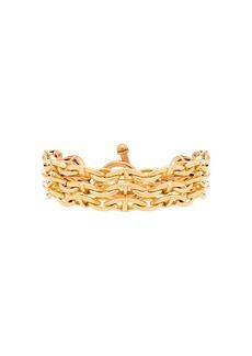 Brinker & Eliza triple threat chain bracelet