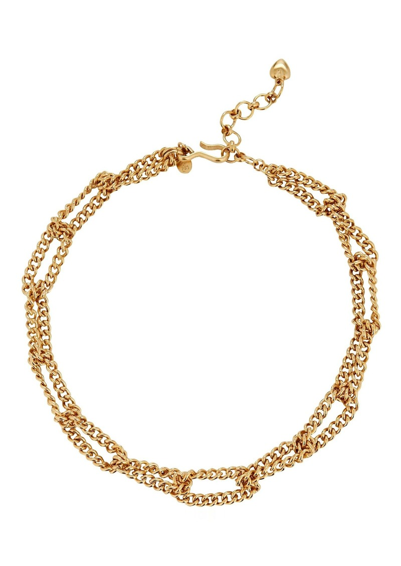 Linked Up Chain-Link Necklace