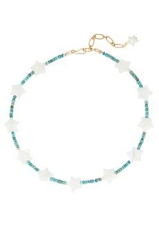 Brinker & Eliza Starry Eyed Beaded Necklace