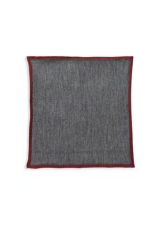 Brioni Bicolor Pocket Square