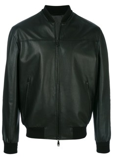 Brioni bomber jacket - Black