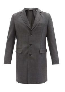 Brioni BP Signature wool-sharkskin car coat