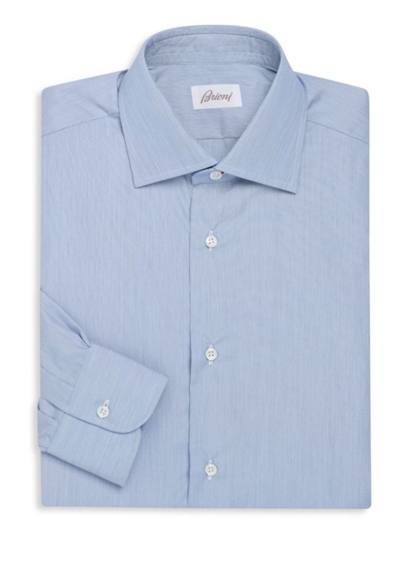 Brioni Button-Front Dress Shirt