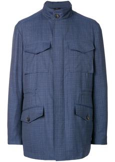 Brioni cargo jacket - Blue