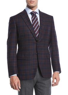 Brioni Cashmere Plaid Jacket