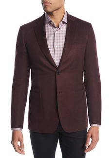 Brioni Cashmere-Silk Two-Button Blazer