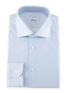 Brioni Chambray Cotton Dress Shirt