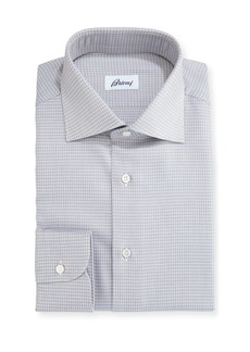Brioni Check Dress Shirt