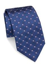 Brioni Check Square Silk Tie
