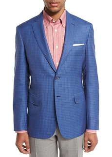 Brioni Check Two-Button Sport Coat