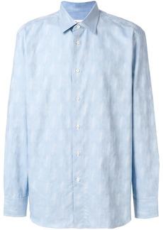 Brioni classic button shirt - Blue