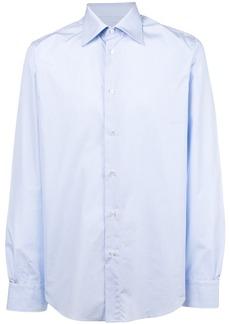 Brioni classic formal shirt - Blue