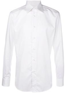 Brioni classic formal shirt - White