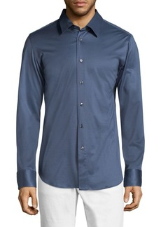 Brioni Regular-Fit Button-Down Shirt