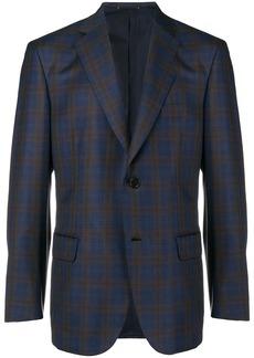 Brioni classic single-breasted blazer - Blue