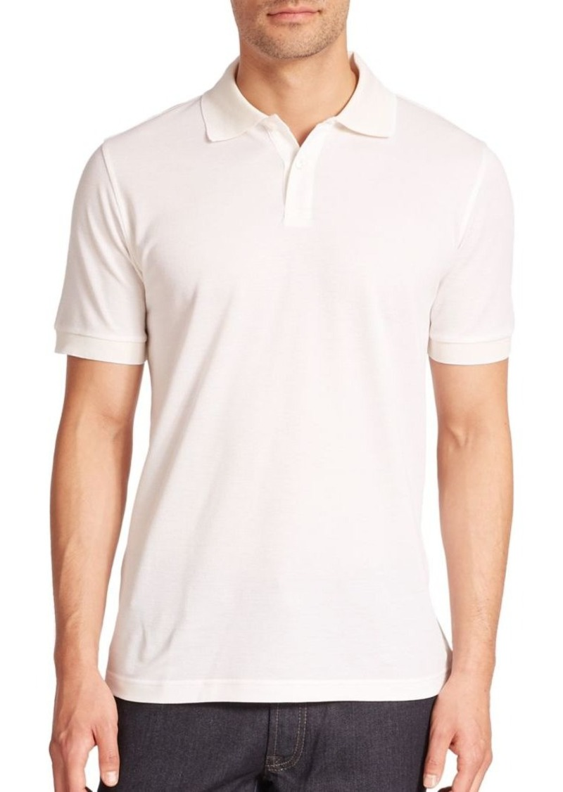 Brioni Cotton & Silk Polo