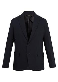 Brioni Cotton-blend seersucker blazer