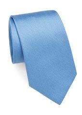 Brioni Dotted Silk Tie