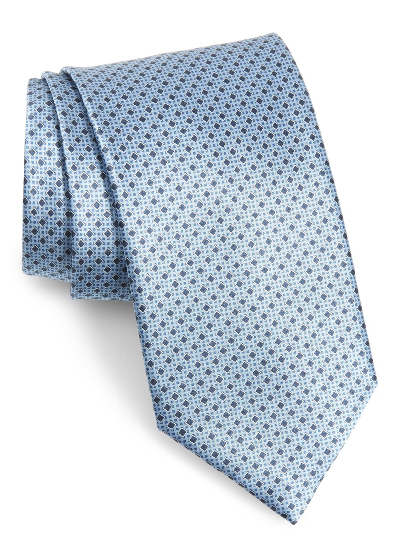 Brioni Geometric Diamond Silk Tie
