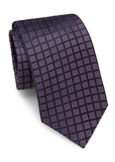 Brioni Geometric Dot Silk Tie
