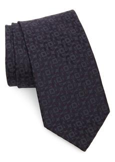 Brioni Geometric Paisley Silk Tie