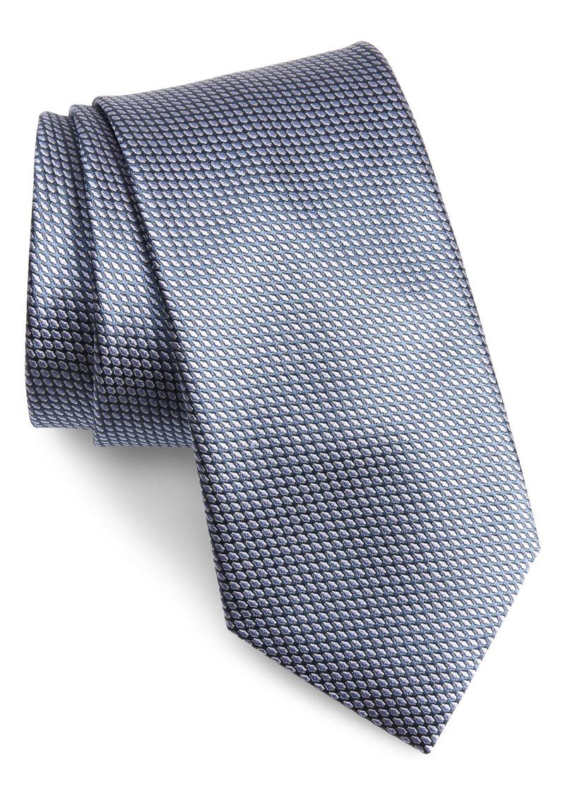 Brioni Geometric Silk Tie