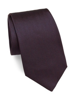 Brioni Italian-Silk Dotted Tie
