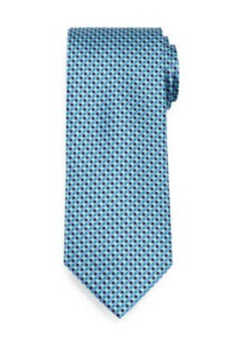 Brioni Lattice-Diamond Silk Tie