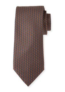 Brioni Lattice Silk Tie