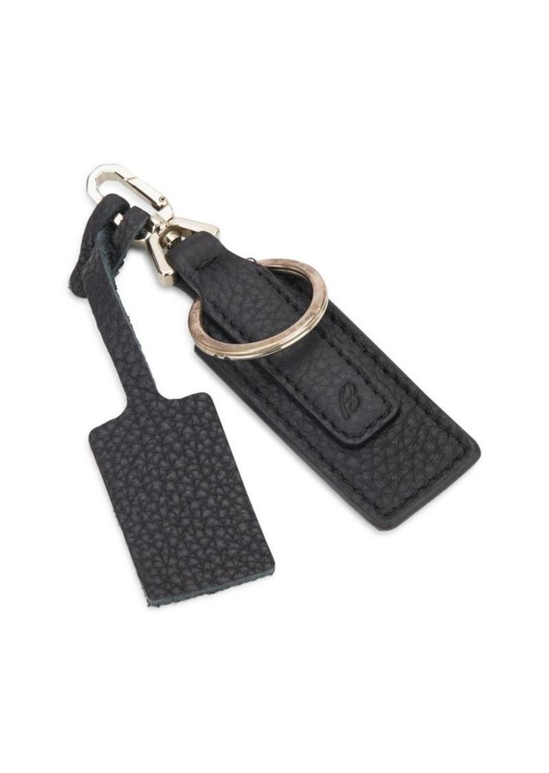 Brioni Leather Luggage Tag