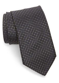 Brioni Medallion Silk Tie