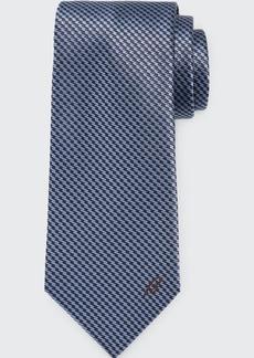 Brioni Men's Etched Lines Silk Tie