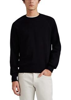 Brioni Men's Fine-Gauge Cotton-Cashmere Raglan Sweatshirt