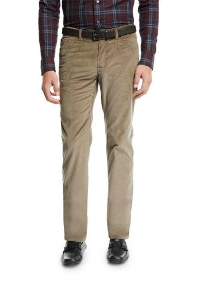 Brioni Men's Five-Pocket Corduroy Pants