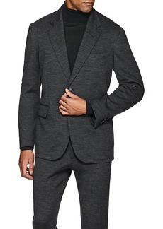 Brioni Men's New Brunico Wool Jersey Two-Button Sportcoat