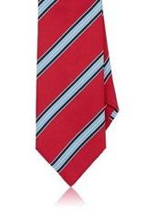 Brioni Men's Striped Silk Necktie