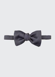 Brioni Men's Textured Silk Bow Tie