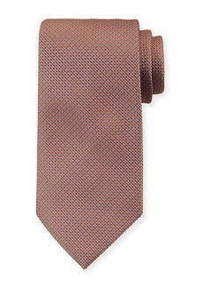 Brioni Micro-Diamonds Silk Tie