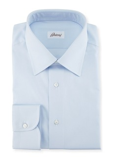 Brioni Micro-Stripe Cotton Dress Shirt