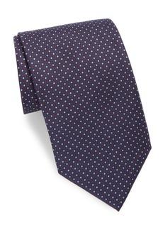 Brioni Mini Dots Silk Tie