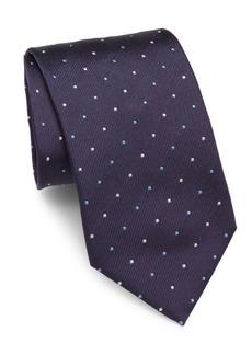 Brioni Mini Multi Dot Silk Tie